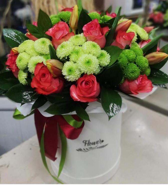Доставка цветов в офис цена, букет